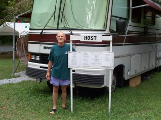 Camp Inn Campground Host Welcomes Campers to join us on the Nantahala River North Carolina